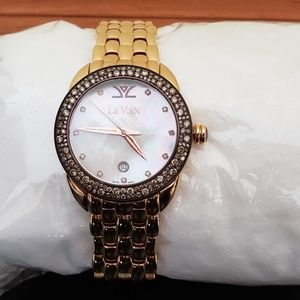 Levian Accessories - LEVIAN WATCH CHOCOLATE DIAMOND 1.93 CTW ROSE GOLD